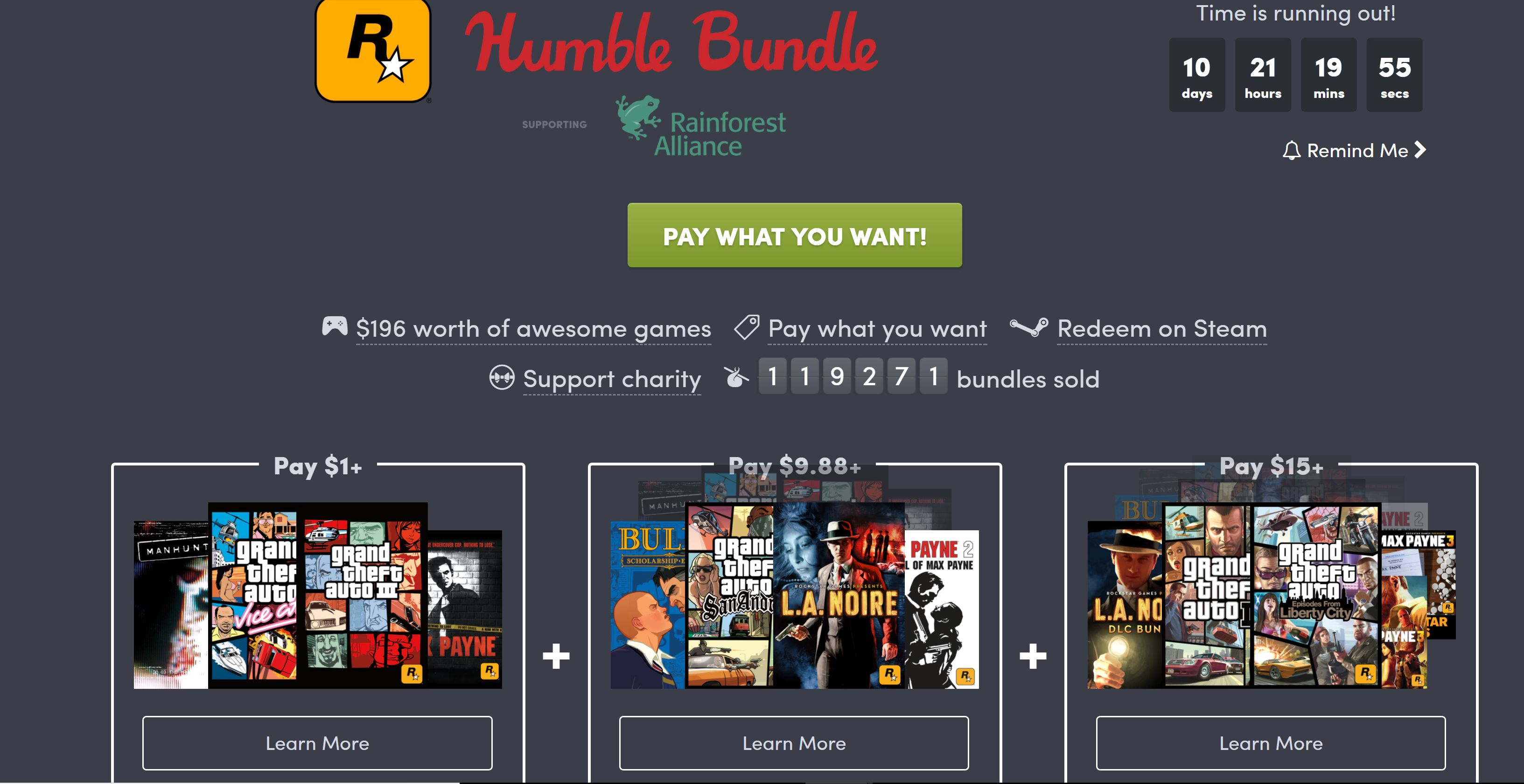 Humble Bundle deal