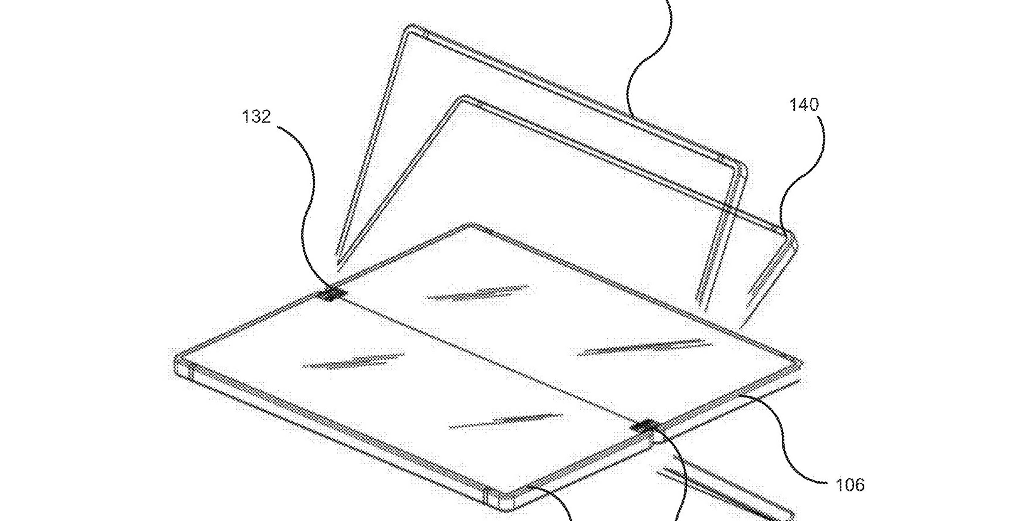 Microsoft patent for foldable phone
