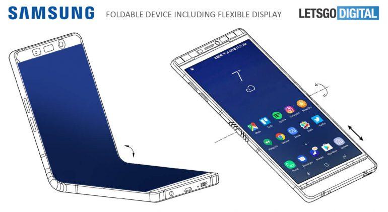 Galaxy X patent
