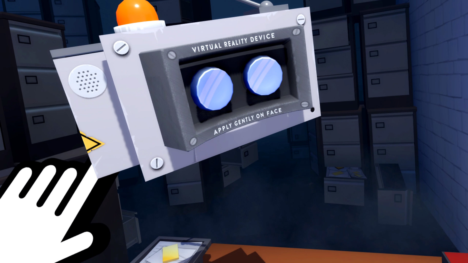 Accounting+ VR headset