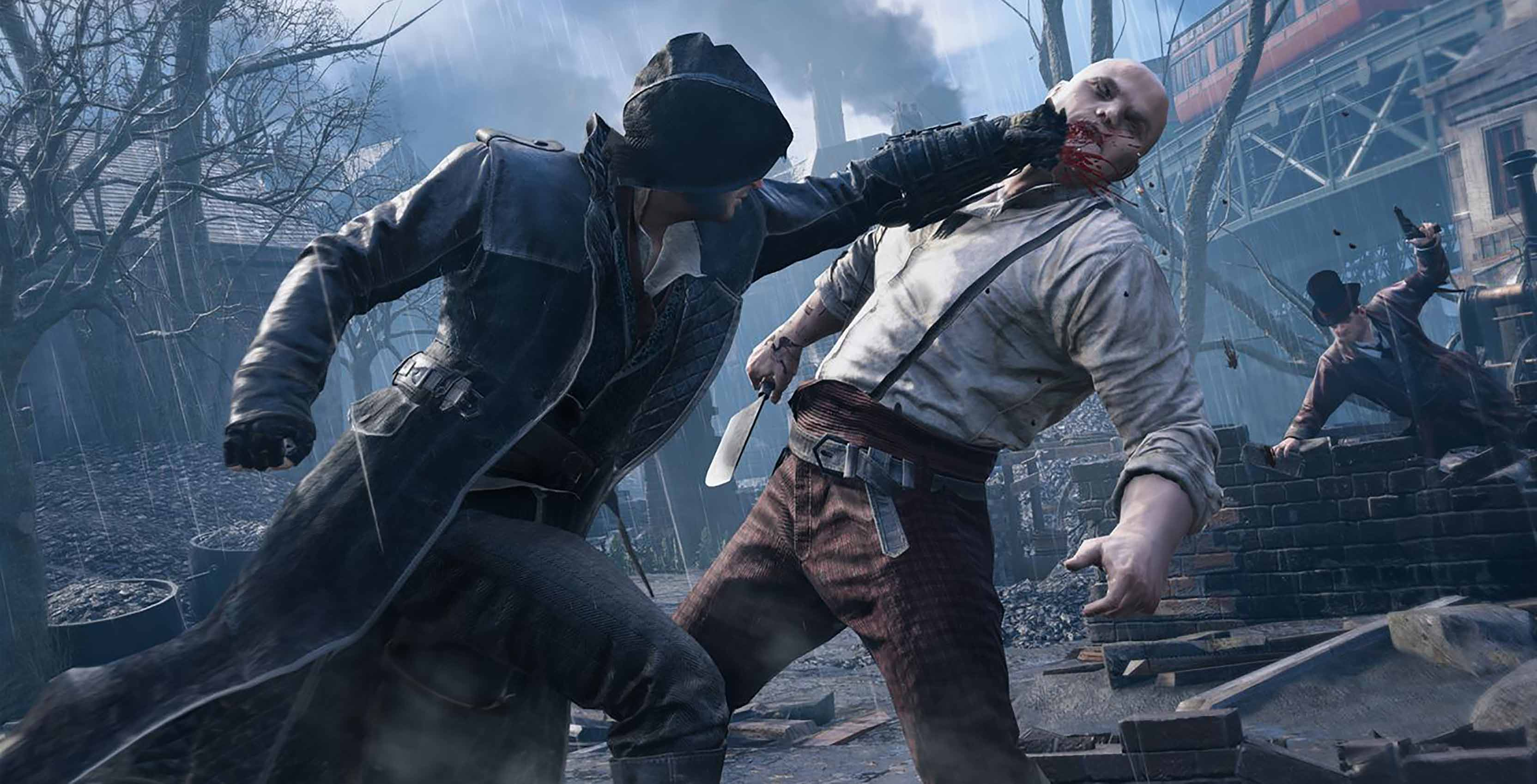 Assassin's Creed Syndicate Jacob combat