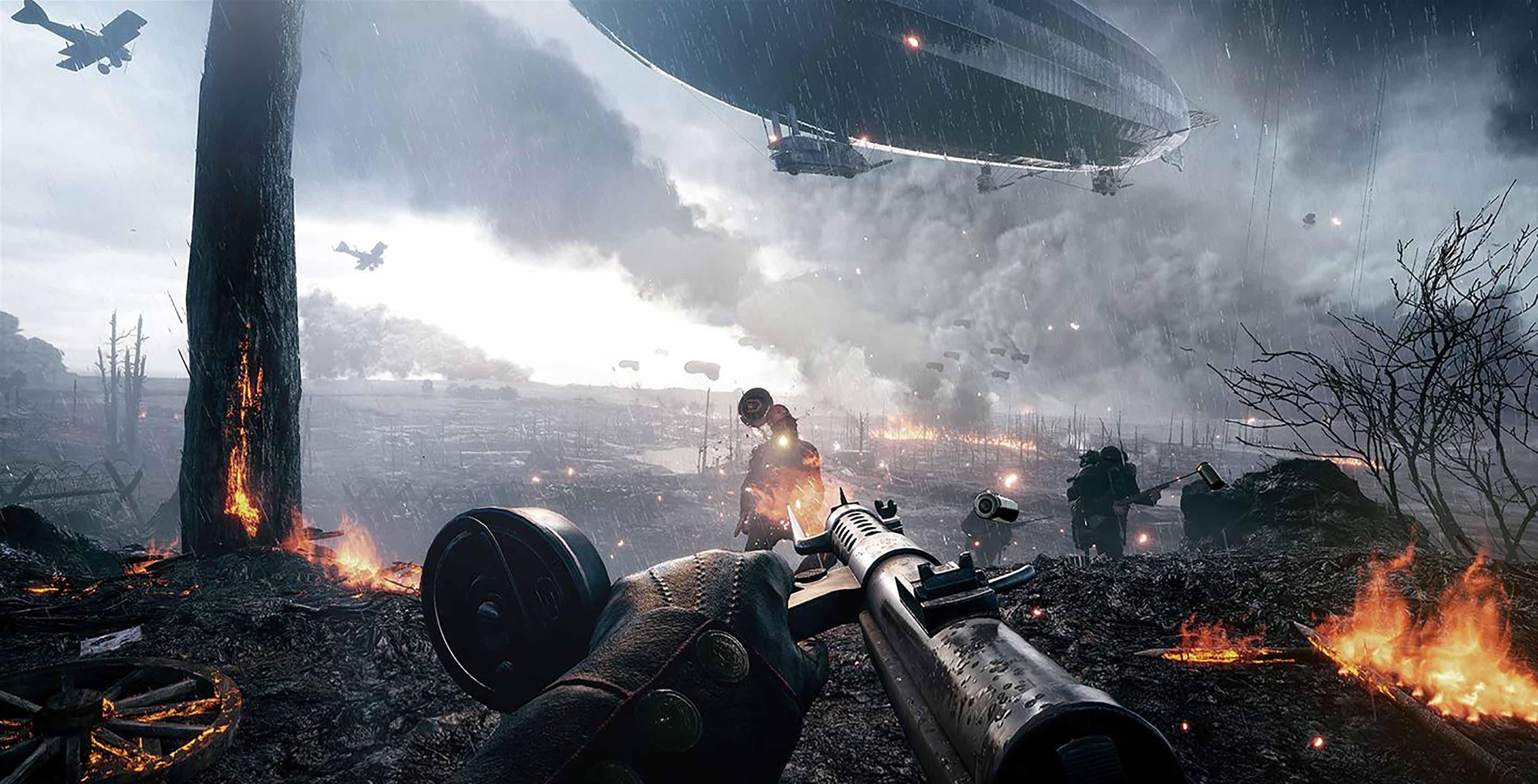 Battlefield 1 combat
