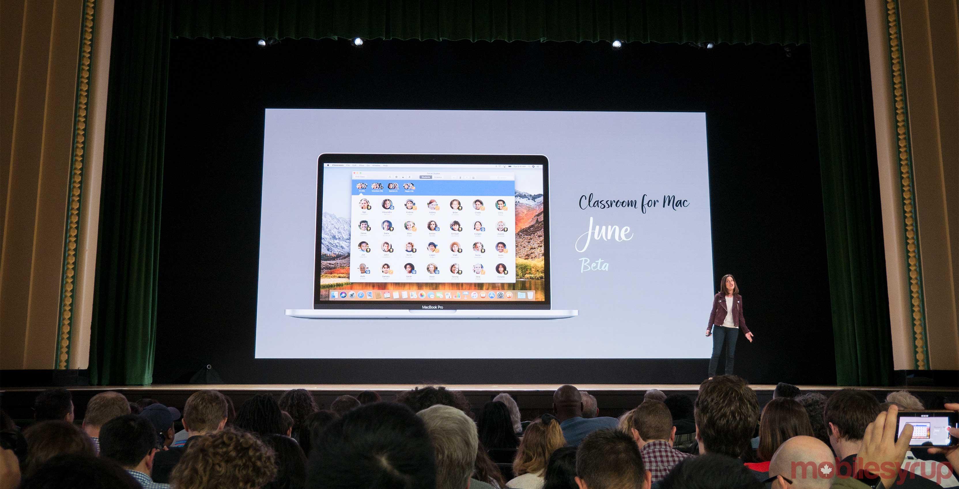 Apple education event classroom