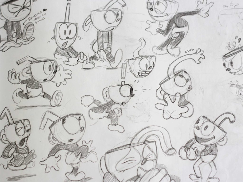Cuphead sketch