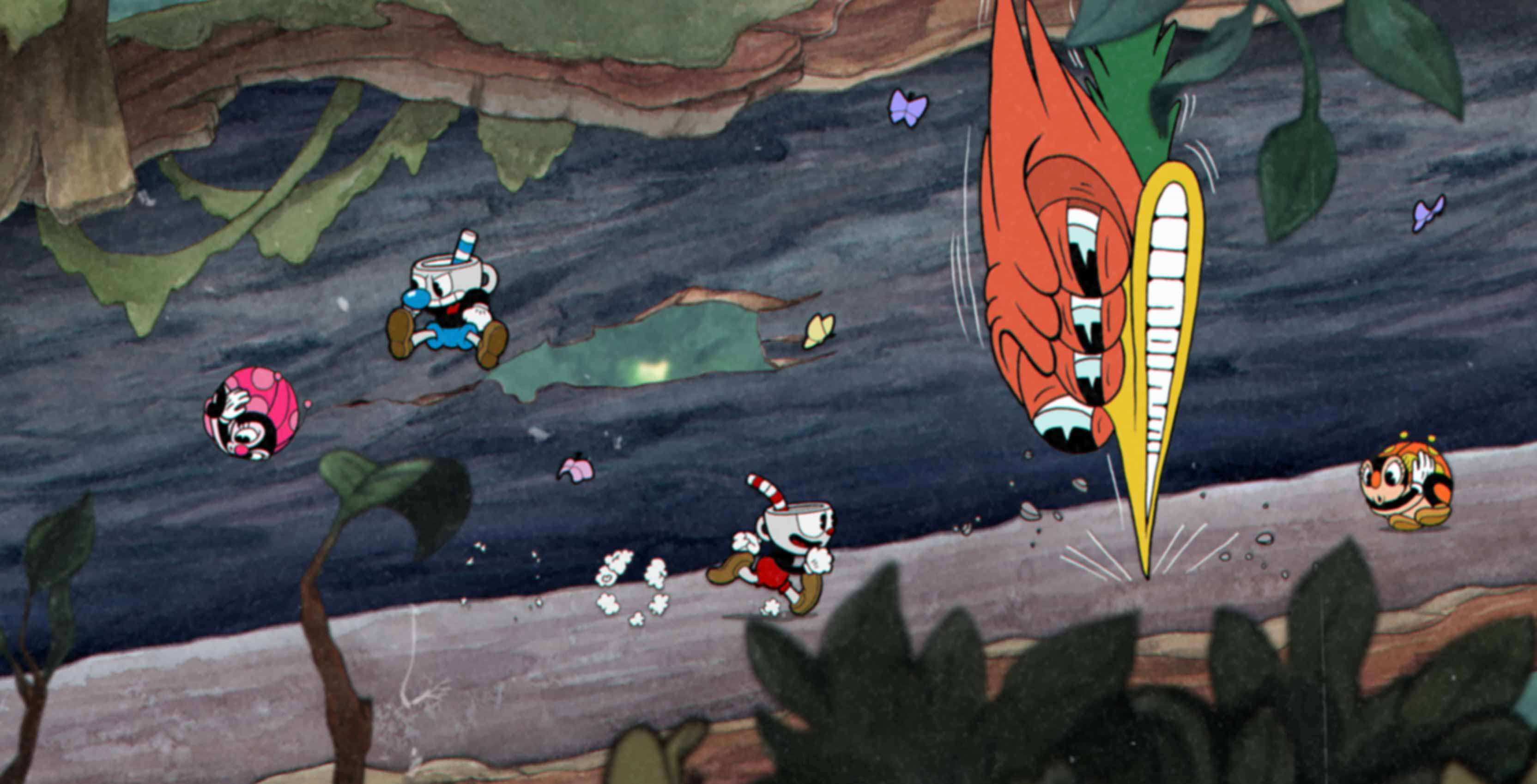 Cuphead woodpecker