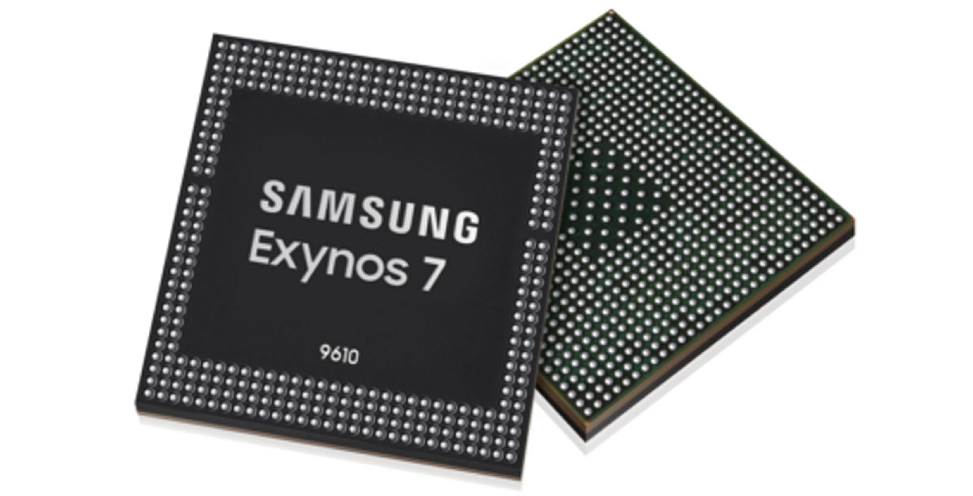 Samsung's new mid-range Exynos 9610 chipset