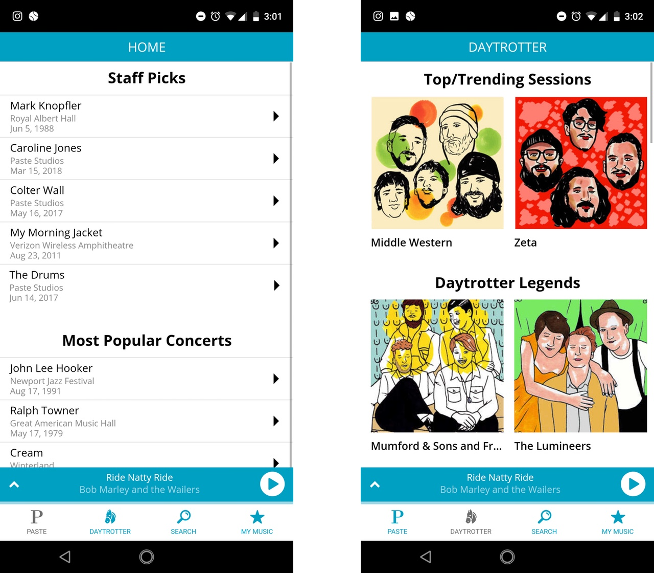 Paste and Daytrotter's new music app is a must for live music lovers