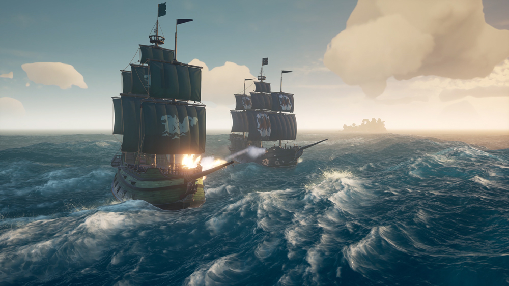 Sea of Thieves Ship Battle combat