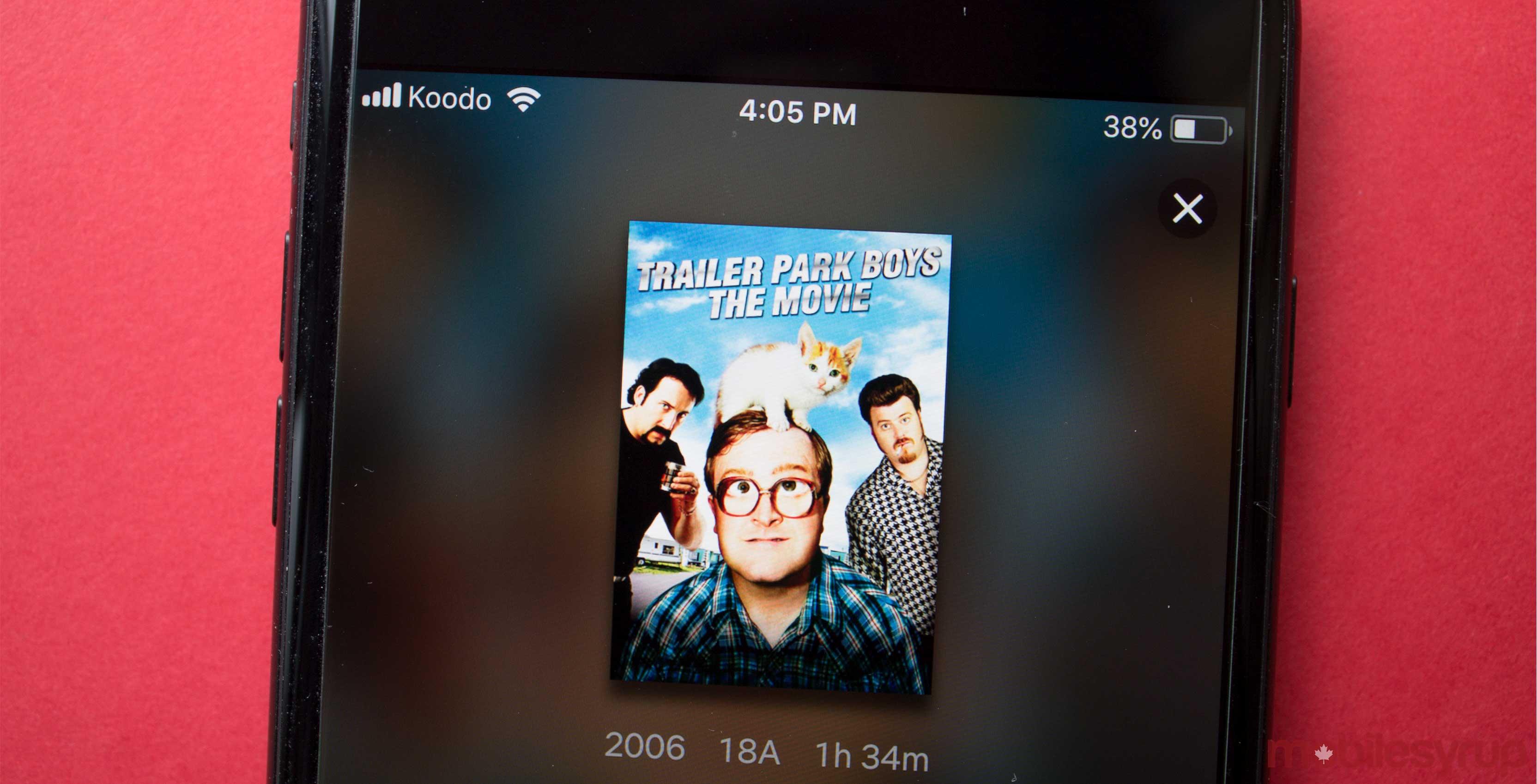 Trailer Park Boy the Movie Netflix