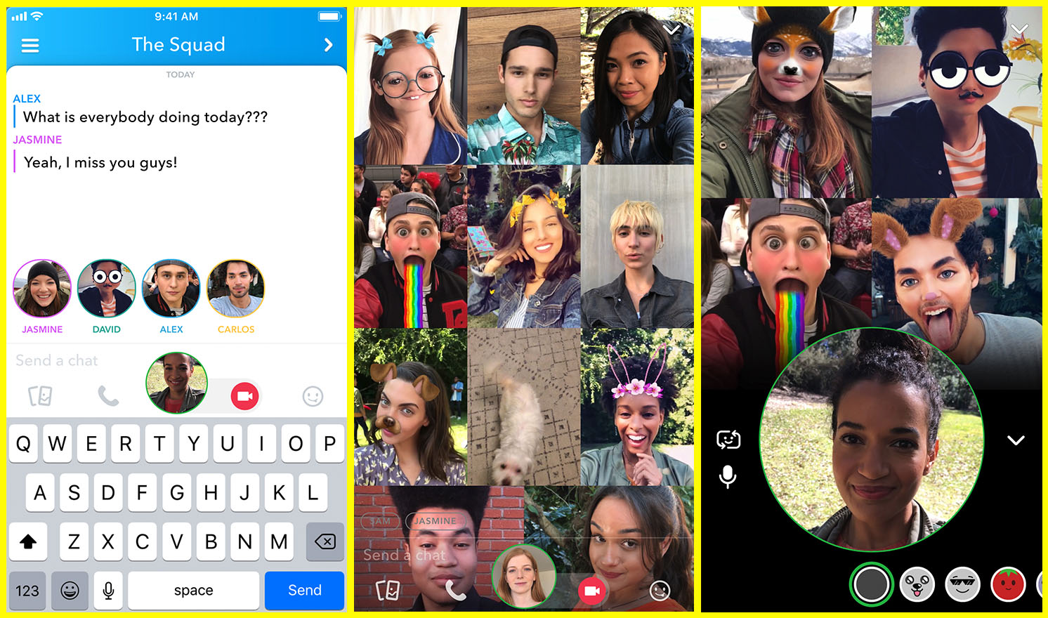 snap-chat-group-video-chat