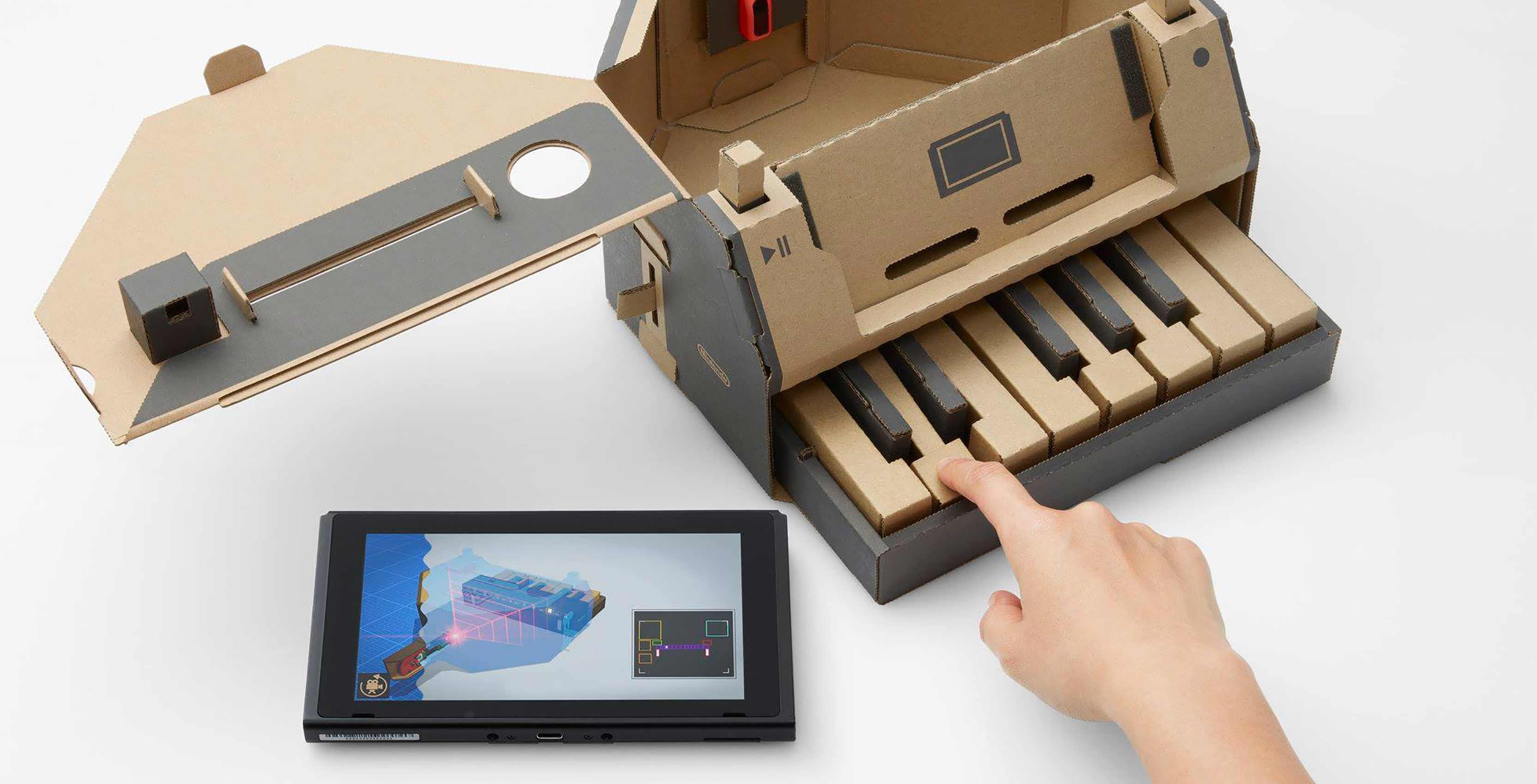 Nintendo Labo Variety Kit piano
