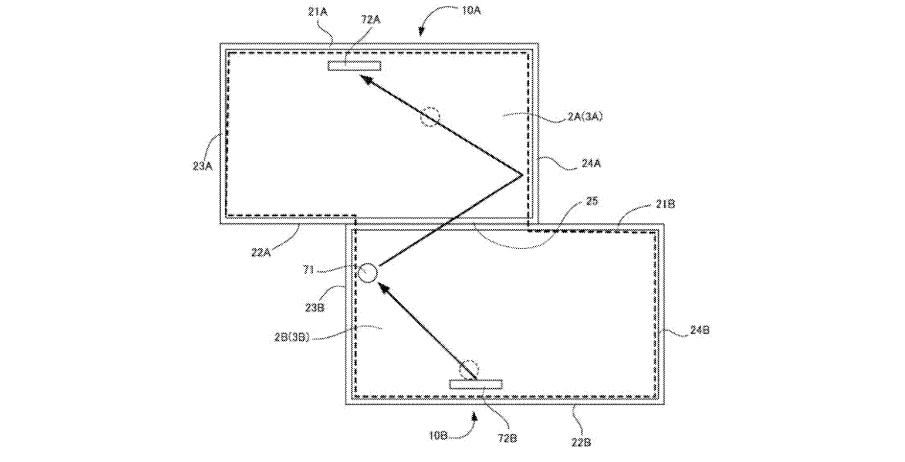 Nintendo communication device patent