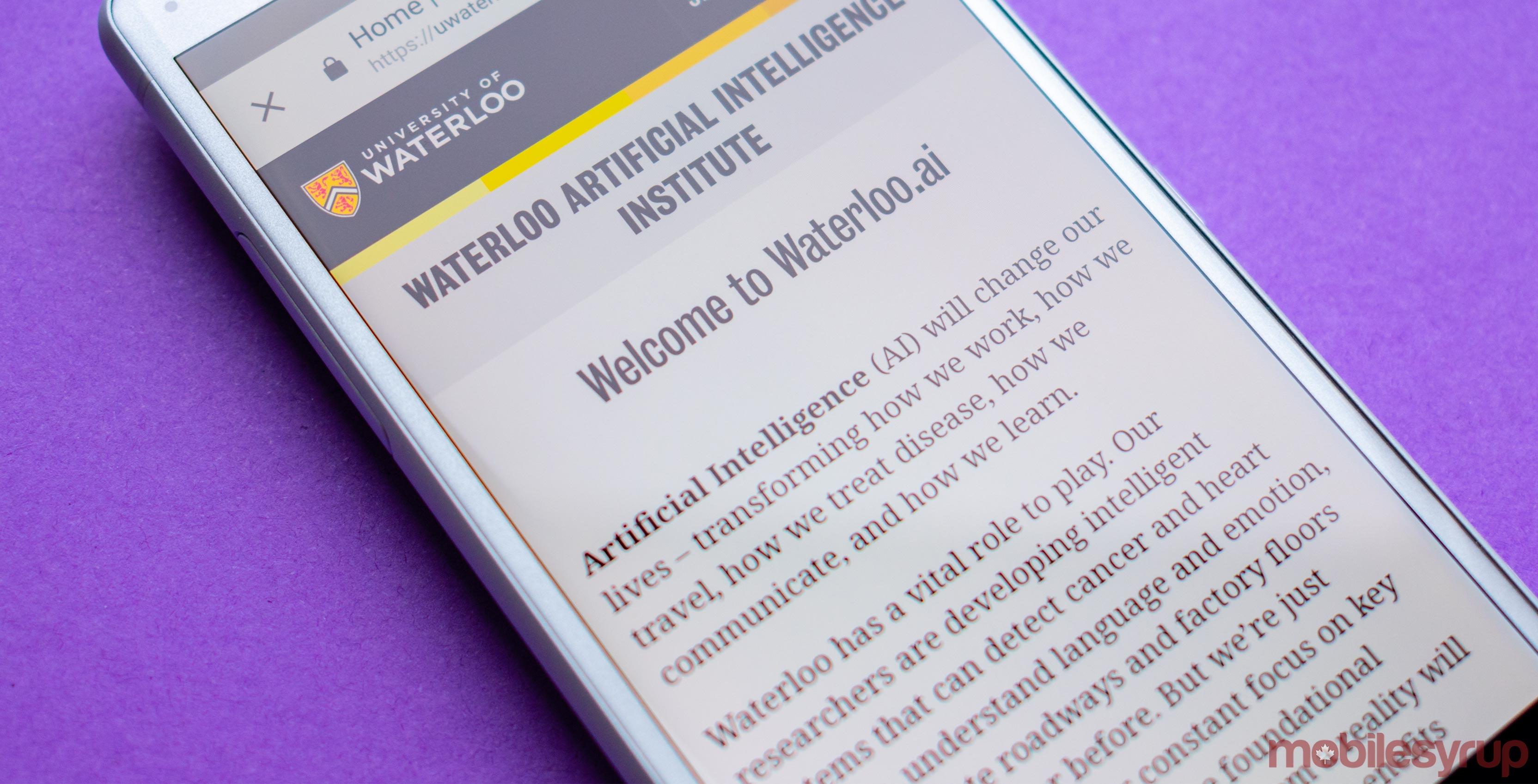 Waterloo AI Institute