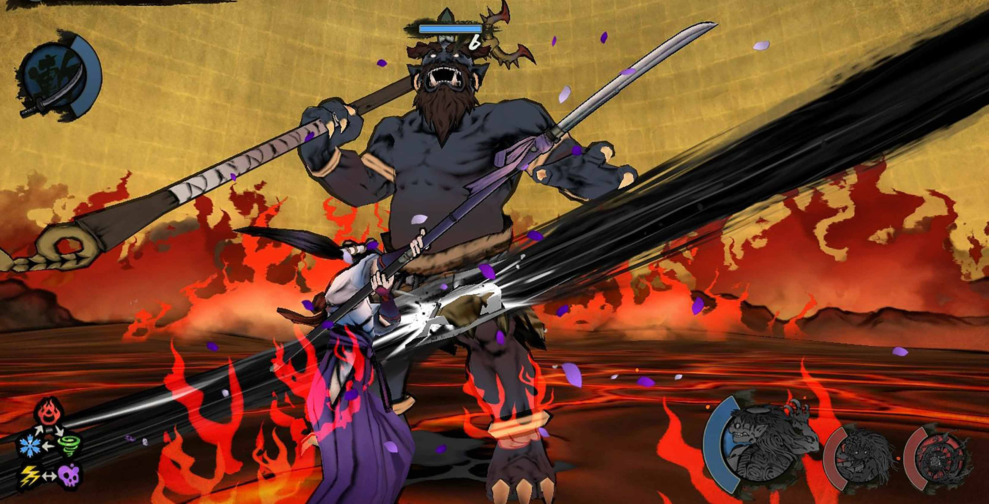World of Demons mobile game combat