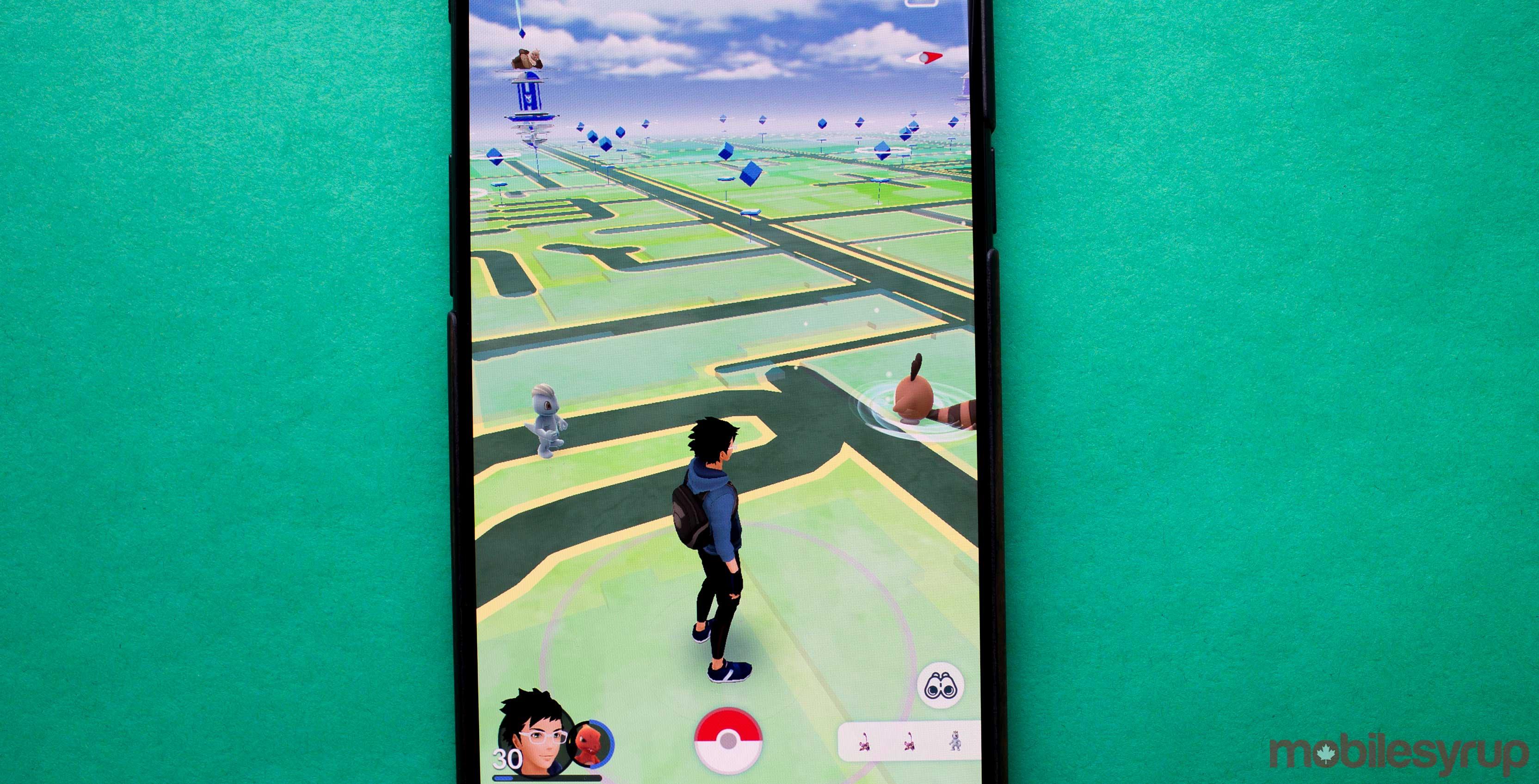 Pokémon Go trainer