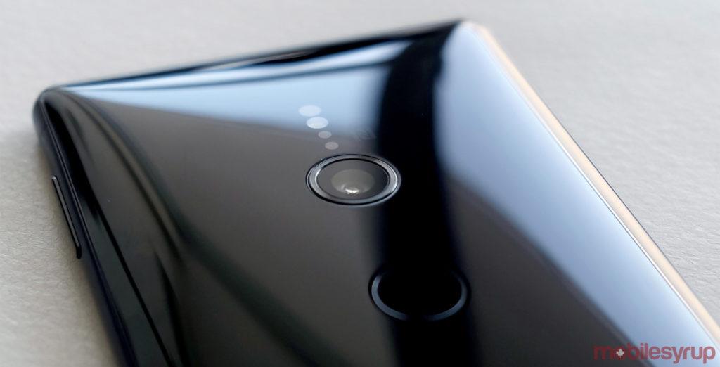 Sony Xperia XZ2 back