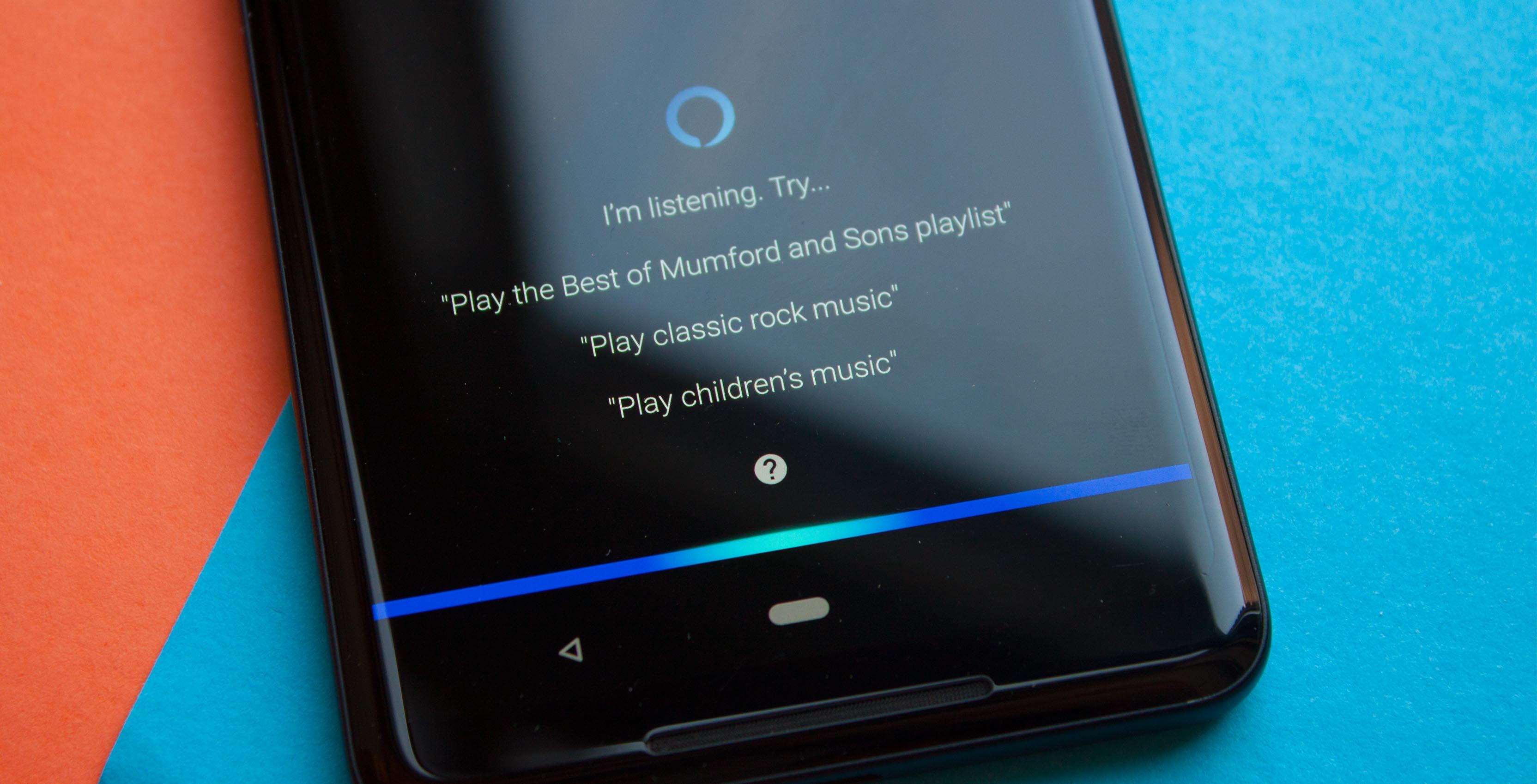 Amazon Alexa in the Music app