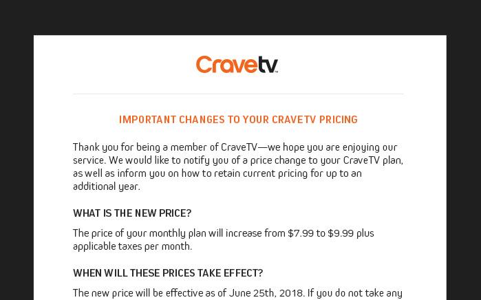 CraveTV