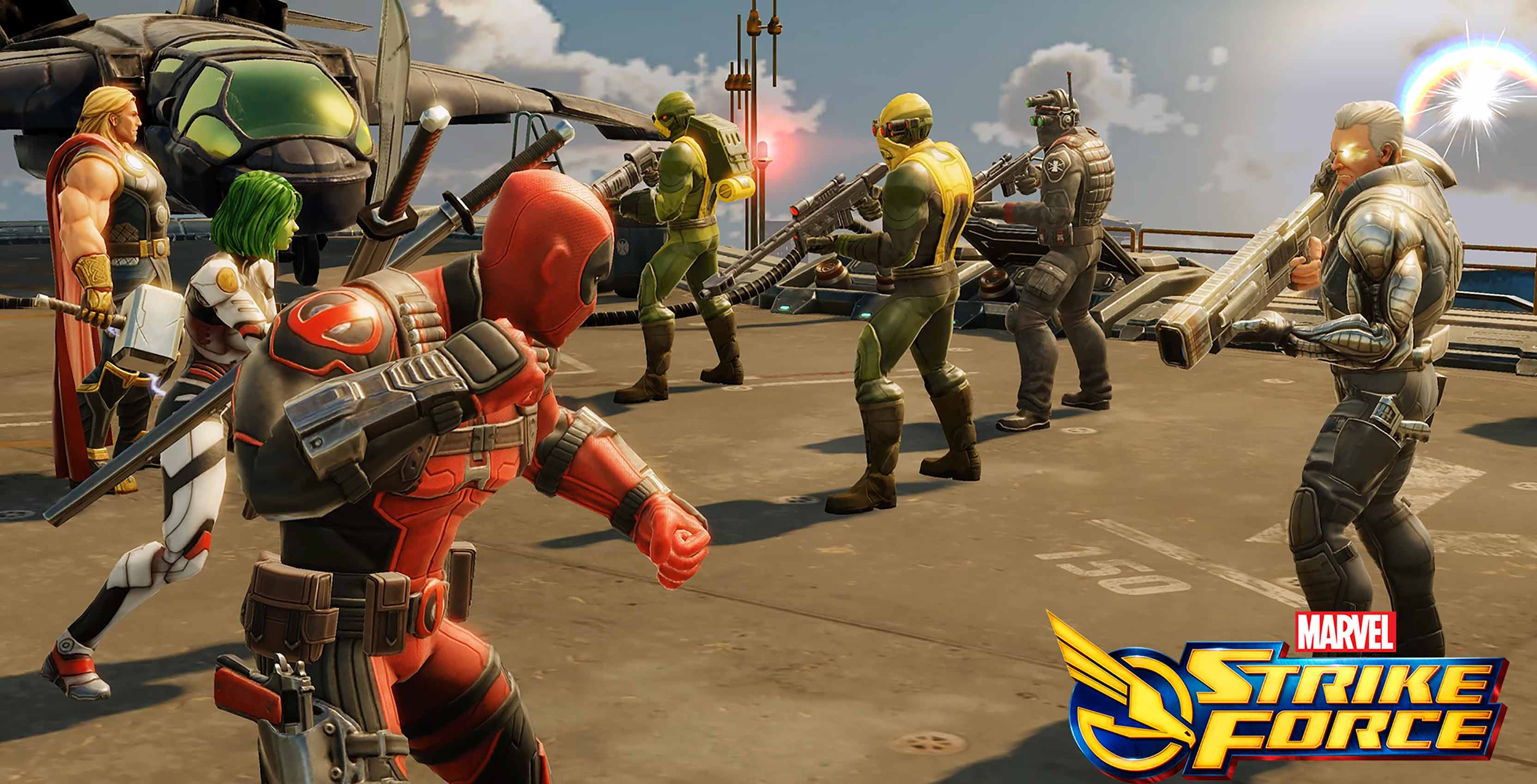 Deadpool in Marvel Strike Force