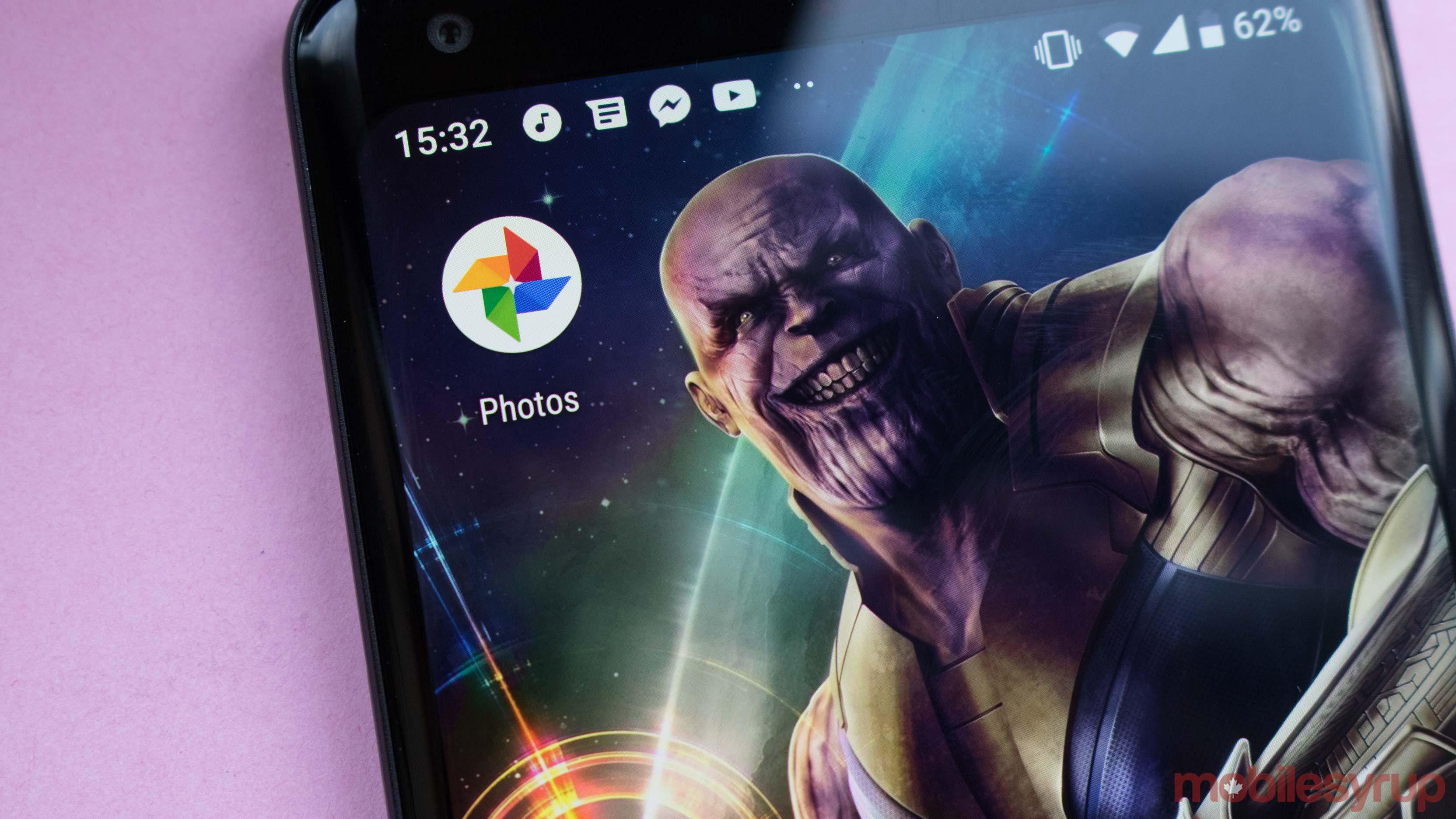 Google Photos Thanos