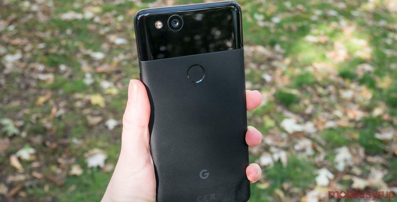 Google Pixel 2 back