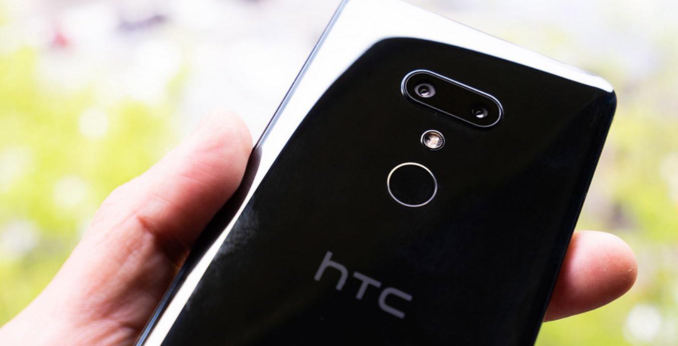 HTC U12+ in ceramic black