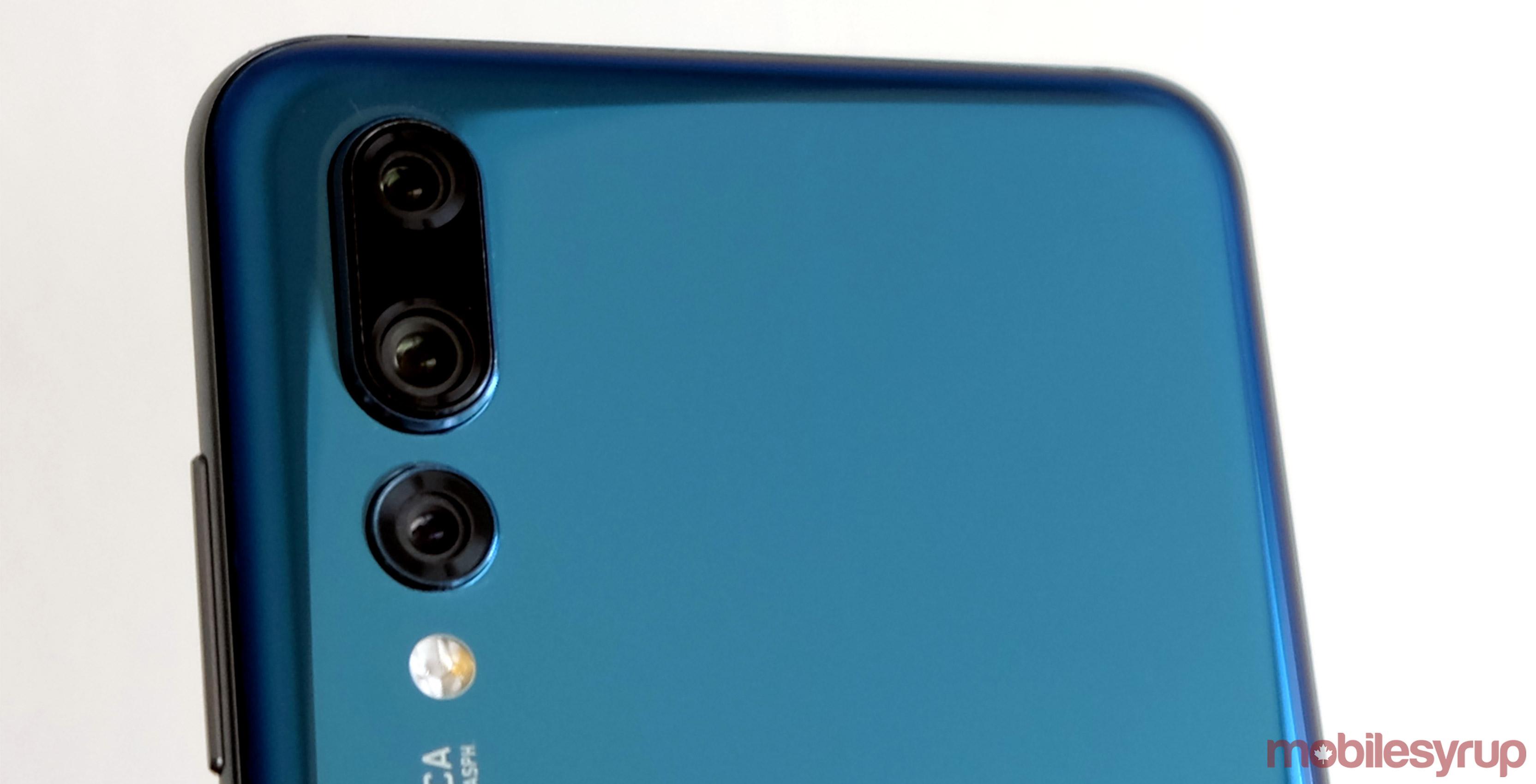 Huawei P20 Pro rear