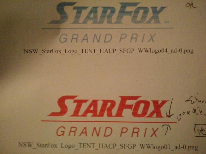 Star Fox Grand Prix leak