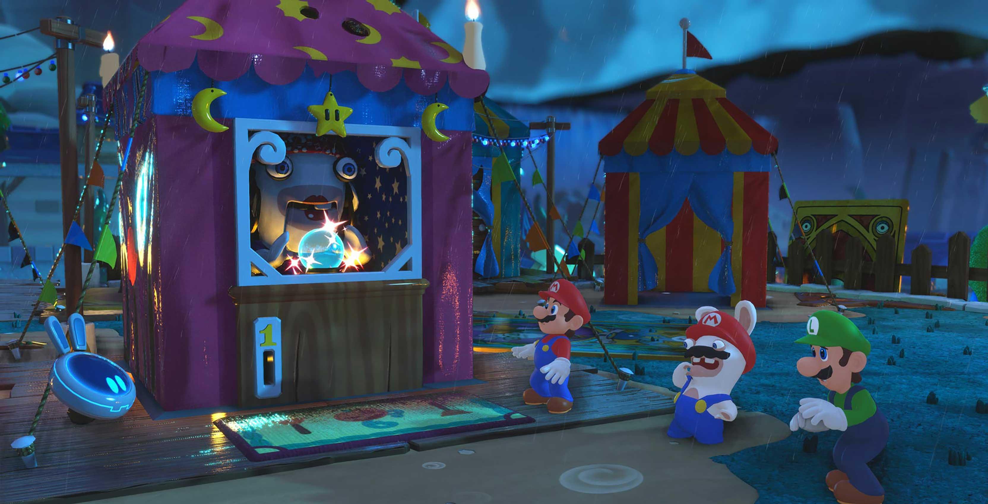 Mario + Rabbids Kingdom Battle spooky
