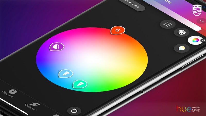Philips Hue 3.0 app