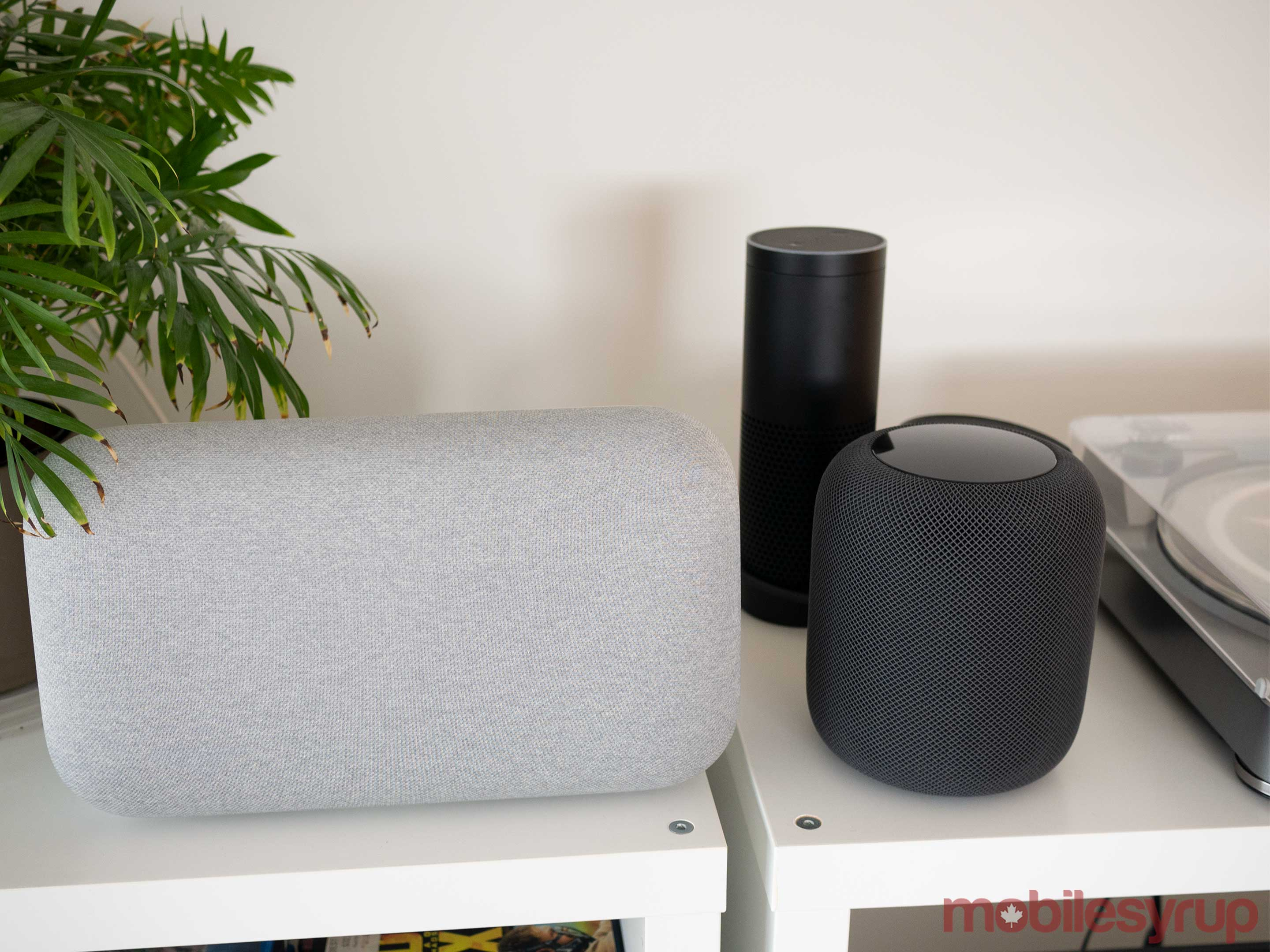 HomePod vs Amazon Echo vs Google Home Max