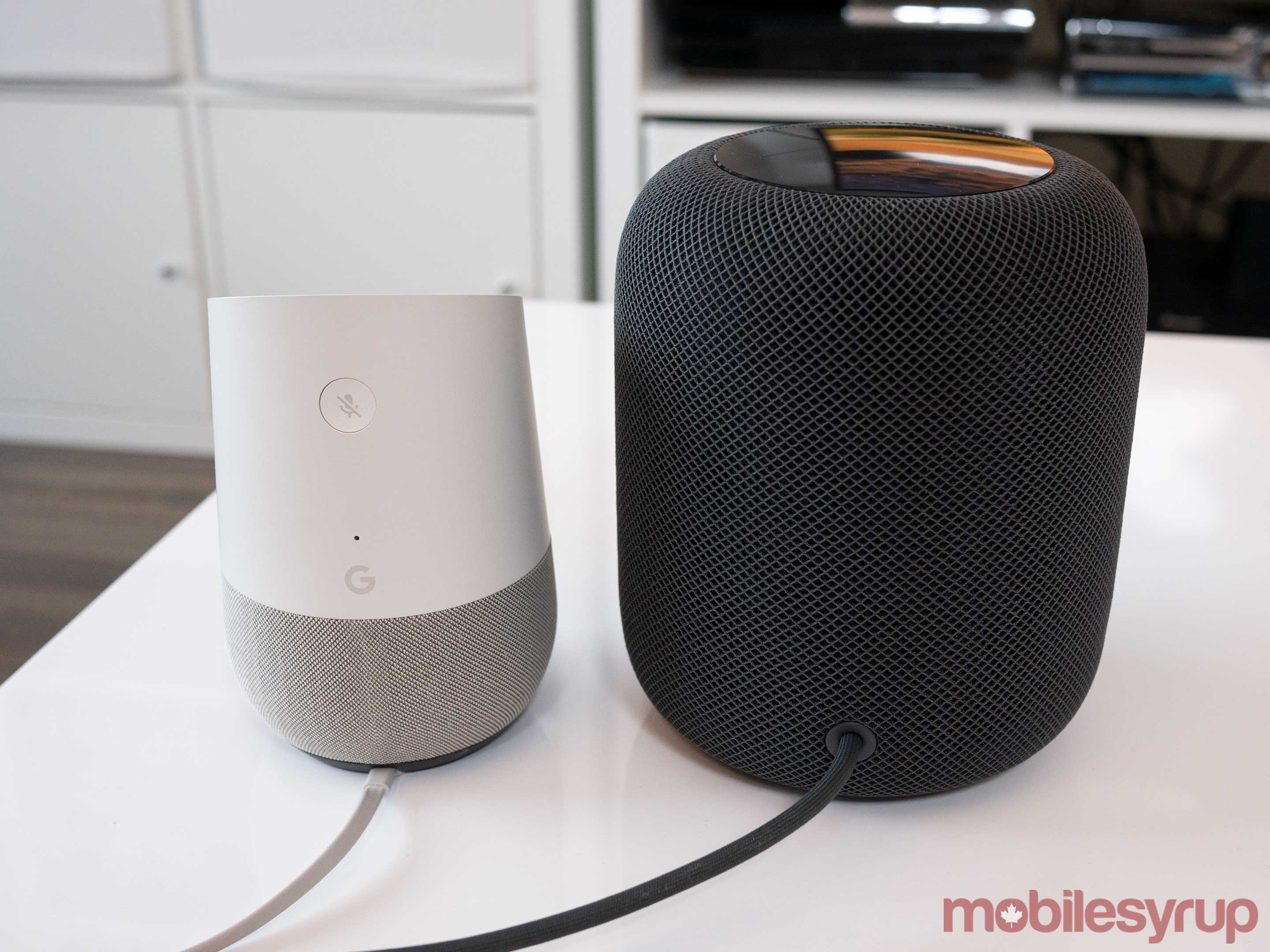 HomePod vs Google Home