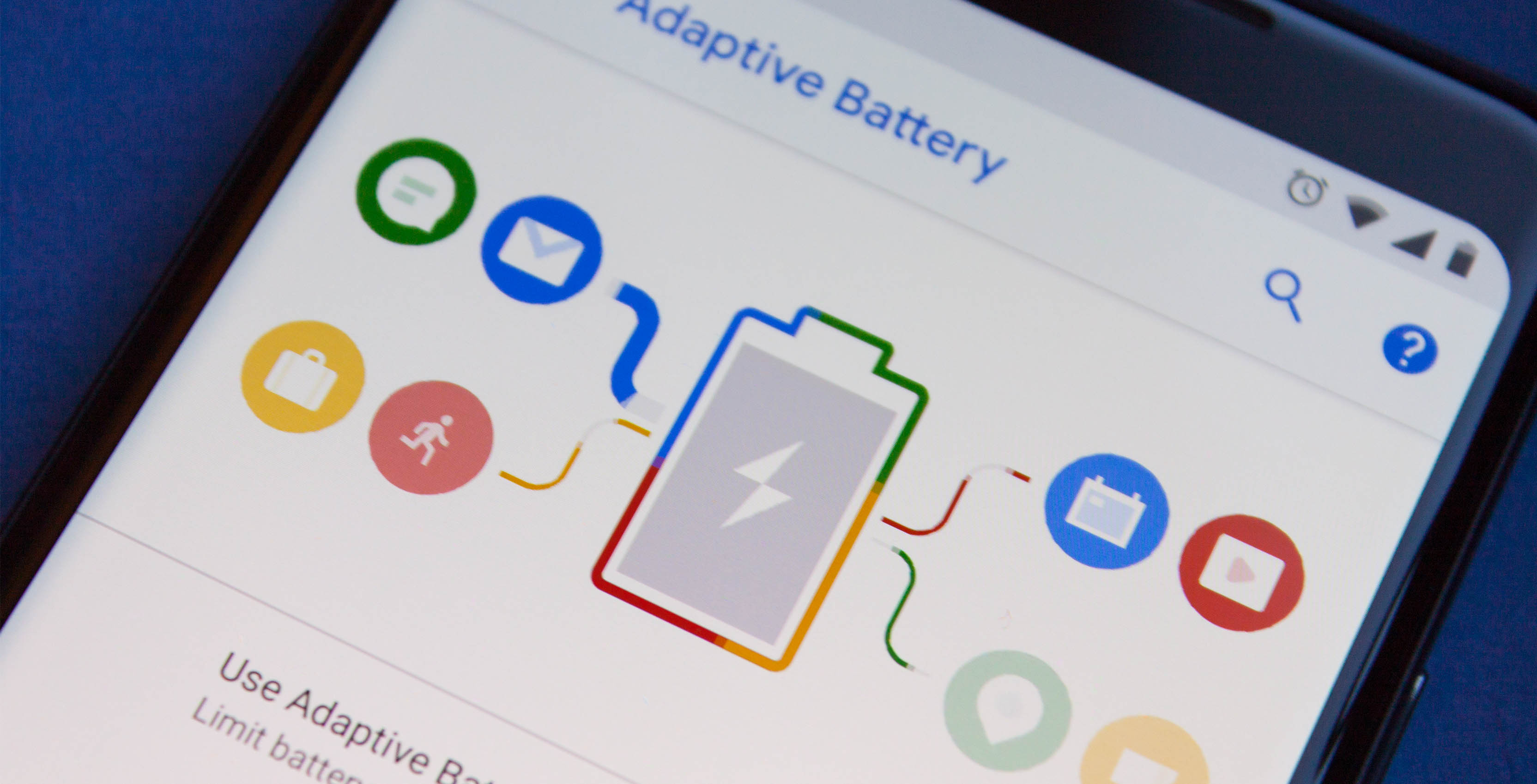 Adaptive Battery on Android P