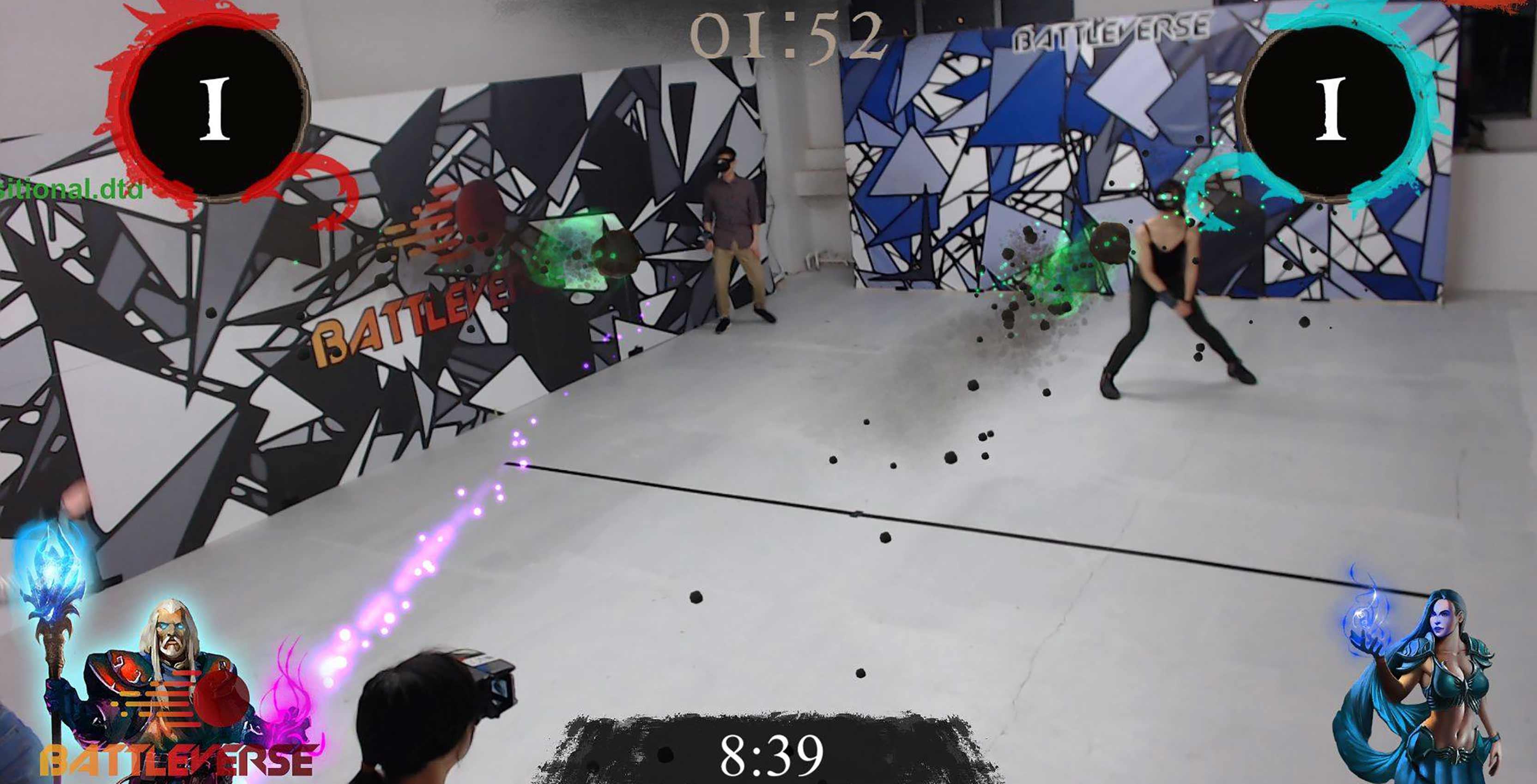 Battleverse AR game match