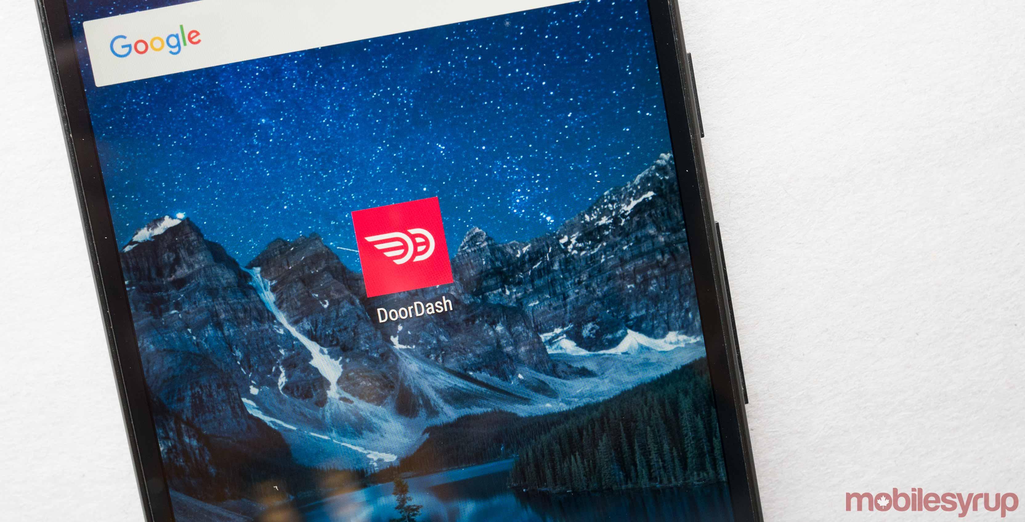 DoorDash Android app