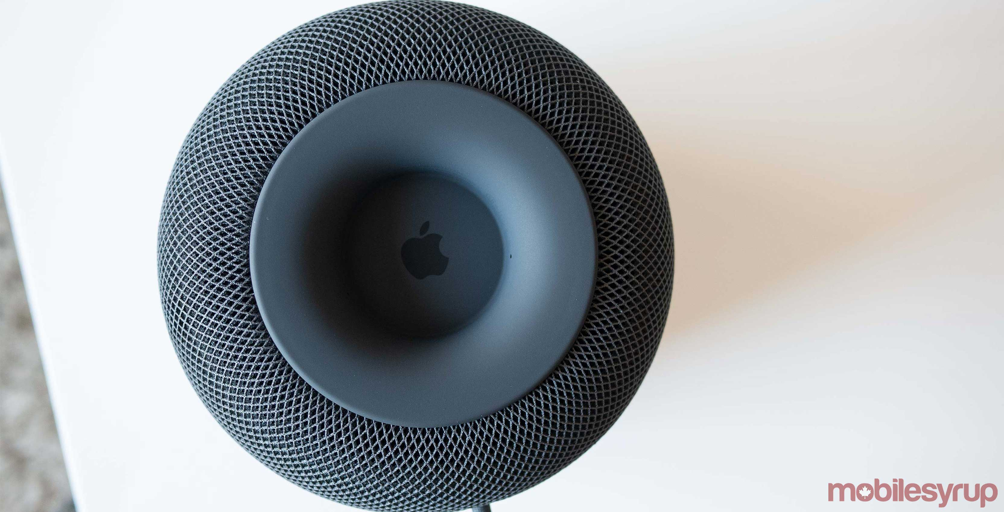 Underside of Apple's HomePod