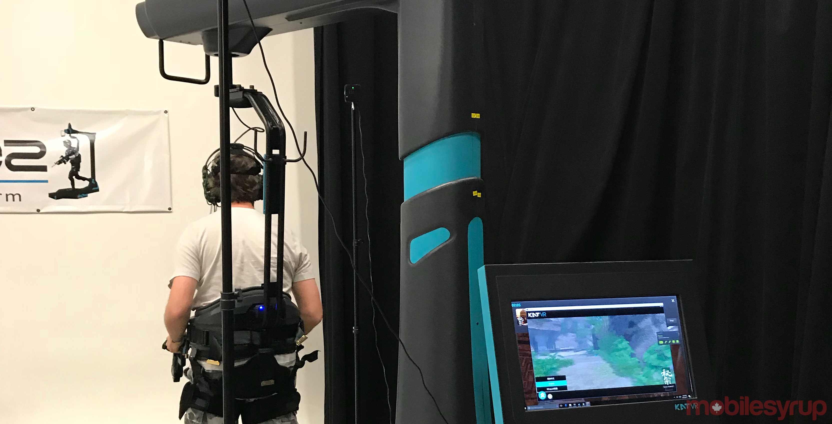 KAT Walk VR rig
