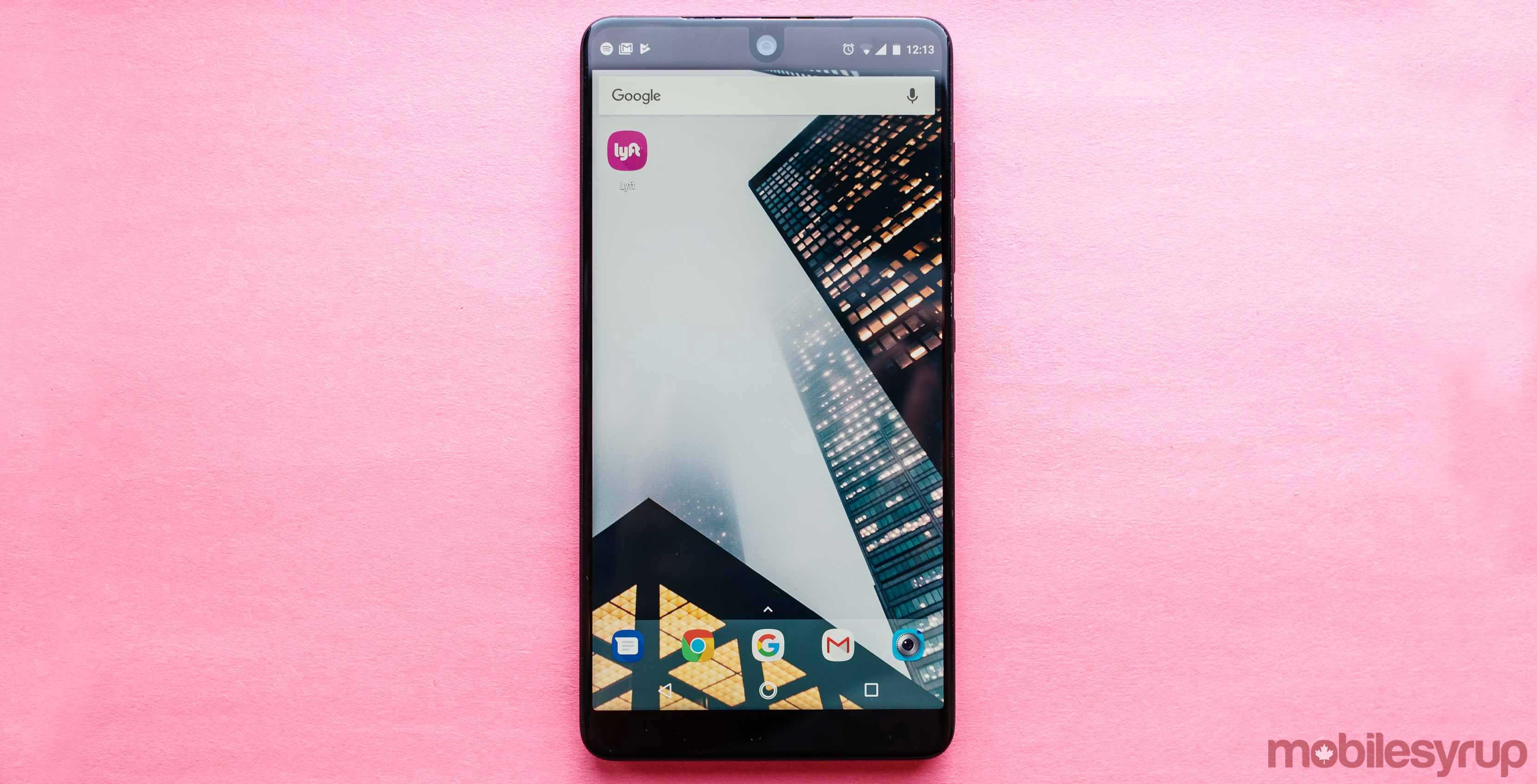Lyft app on Android