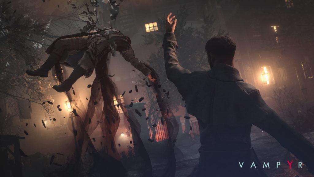 Fighting in Vampyr