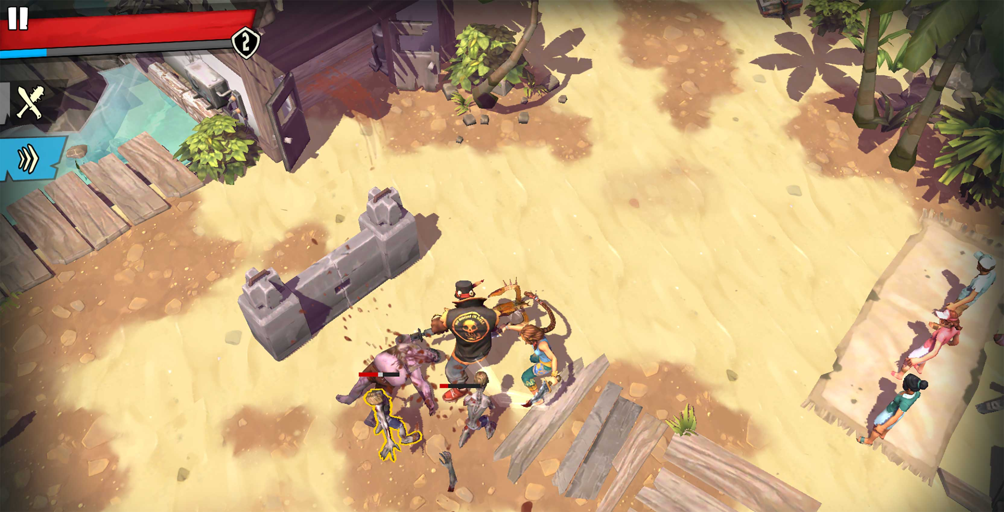 Dead Island Survivors gameplay