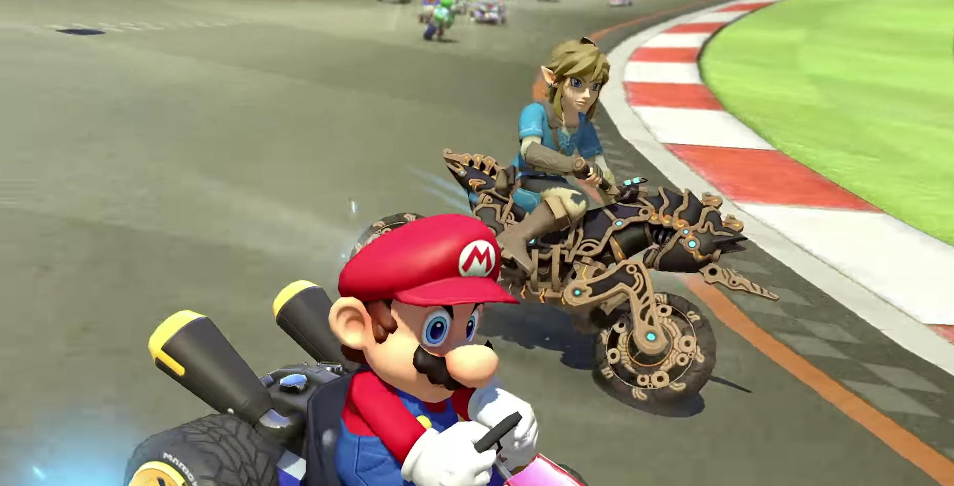 Link in Mario Kart 8 Deluxe