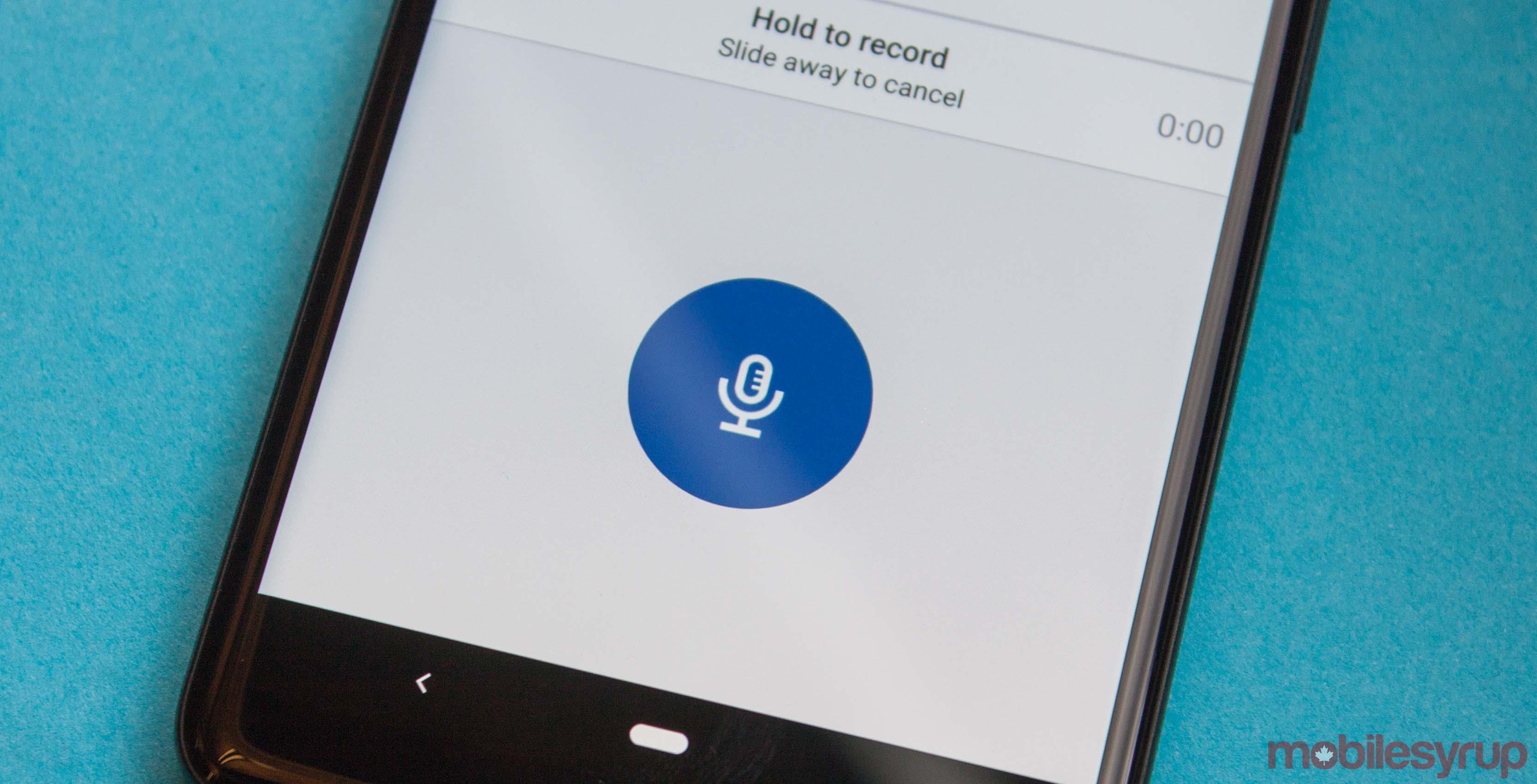LinkedIn voice messaging