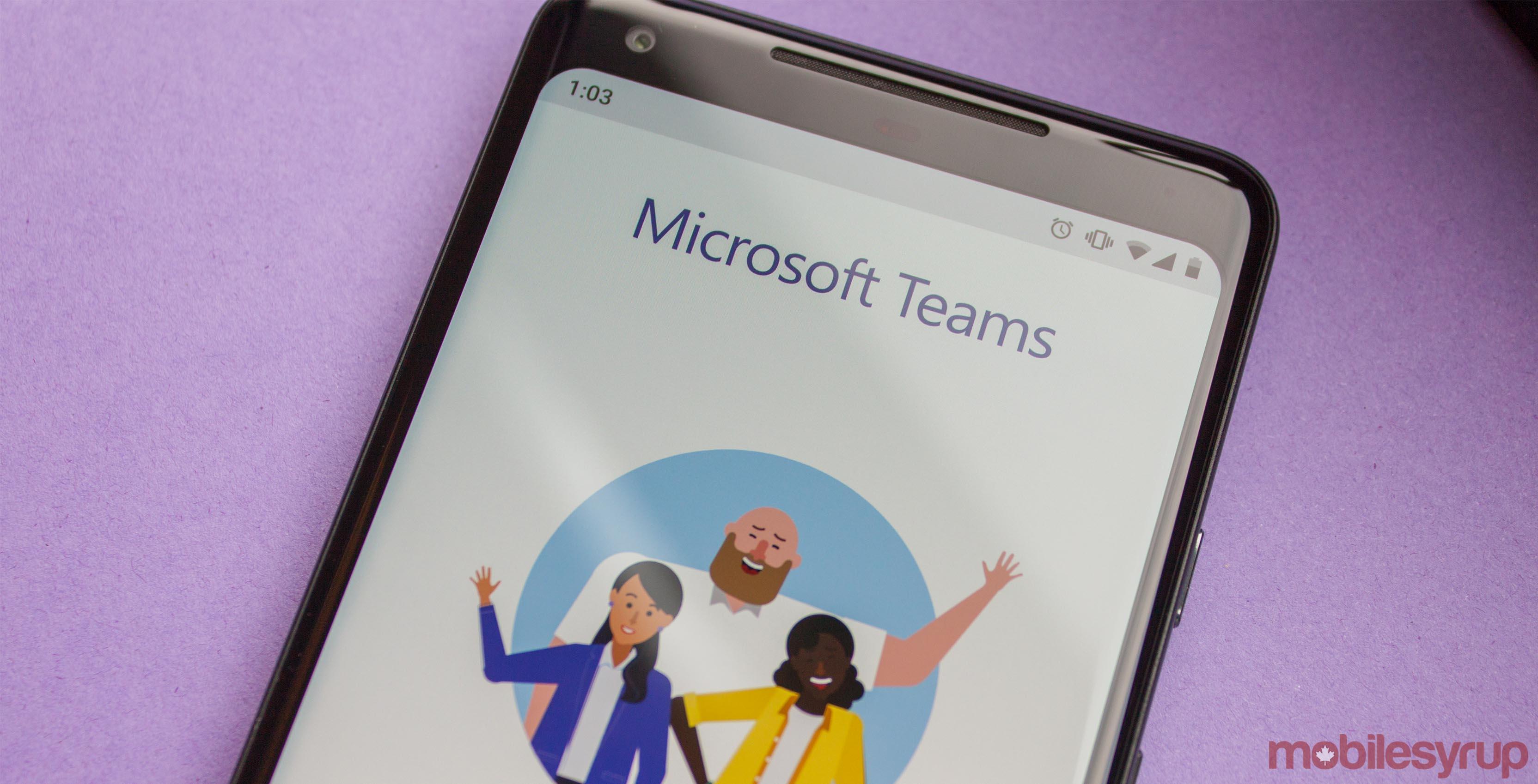 Microsoft Teams on Android