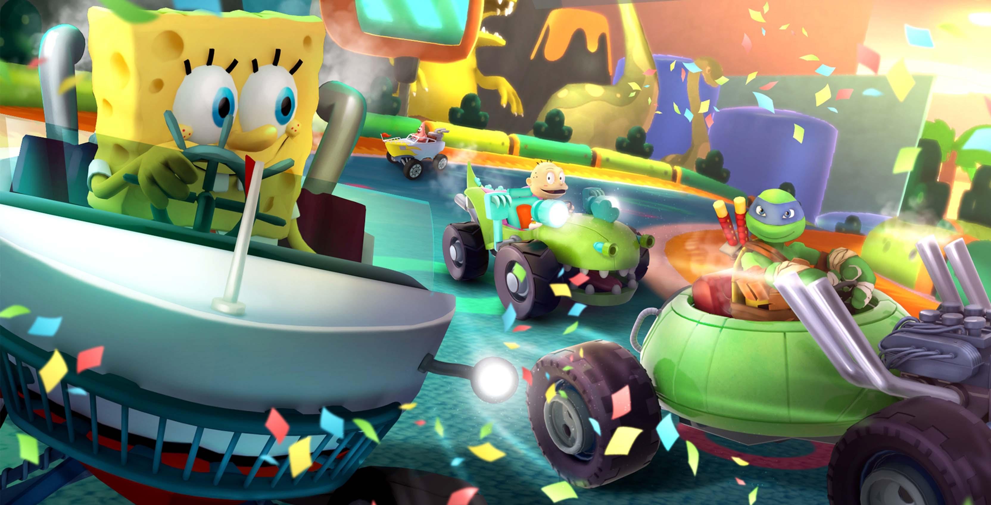 'Nickelodeon Kart Racers'