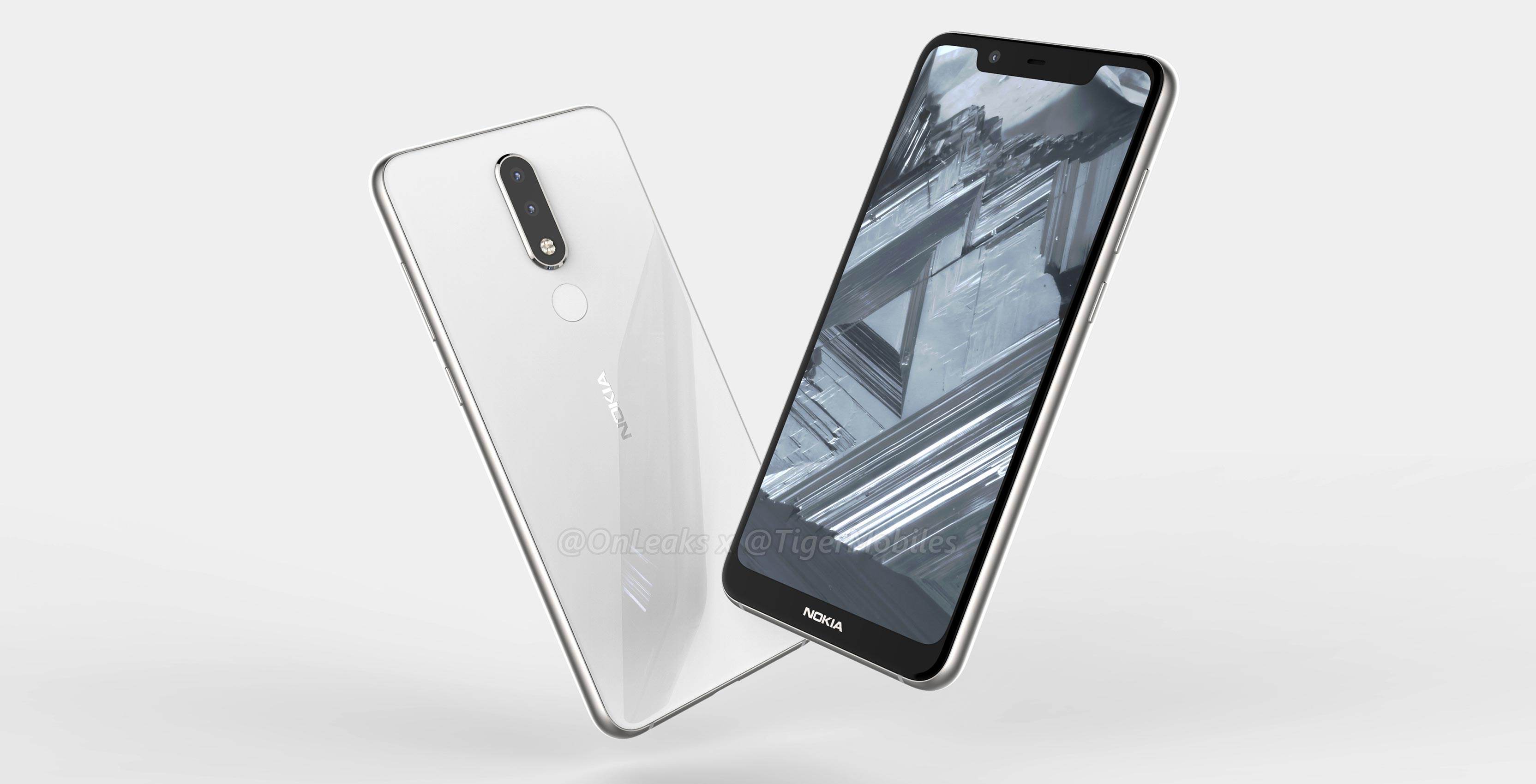 the nokia 5.1 plus render