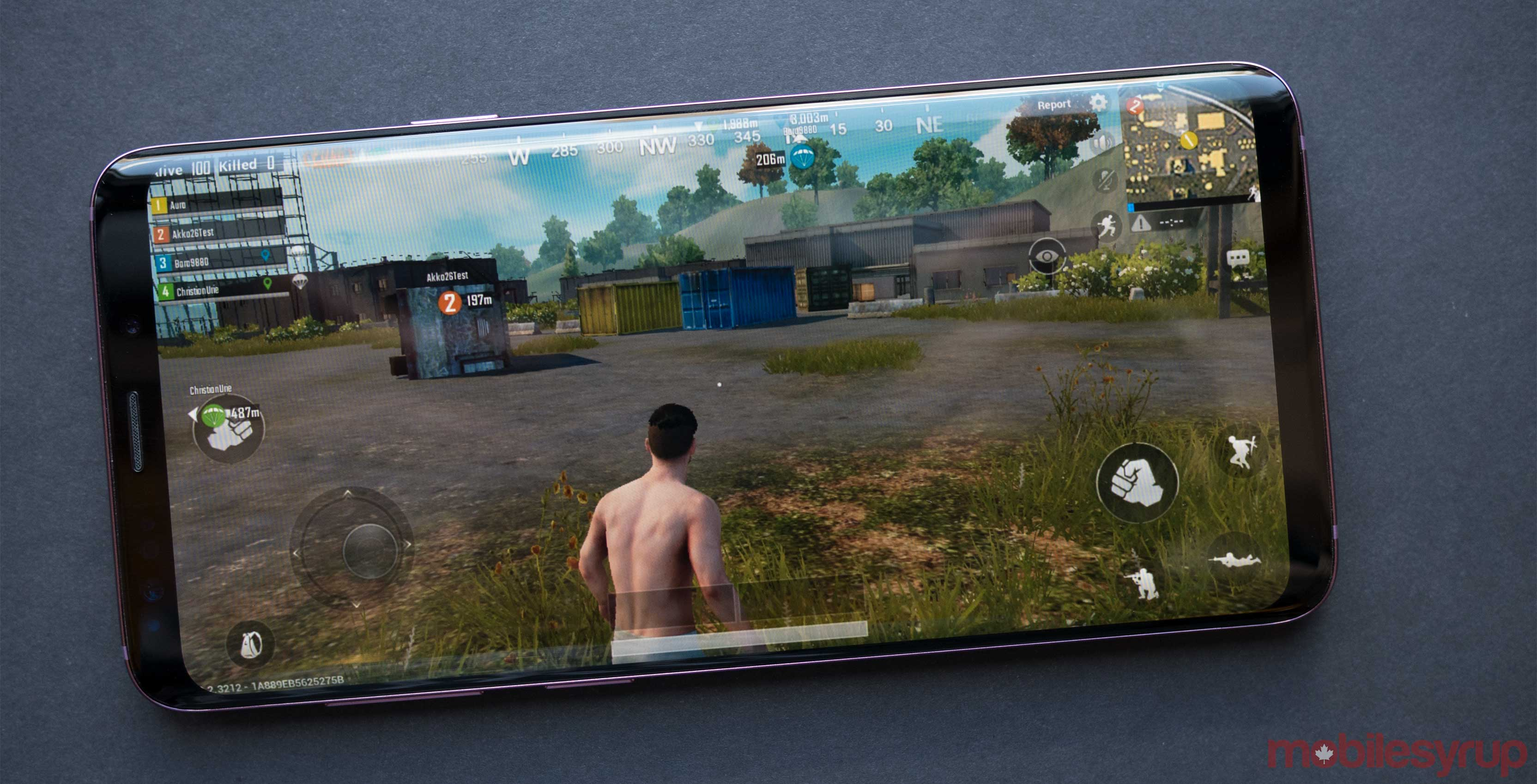 PUBG Mobile on iPhone