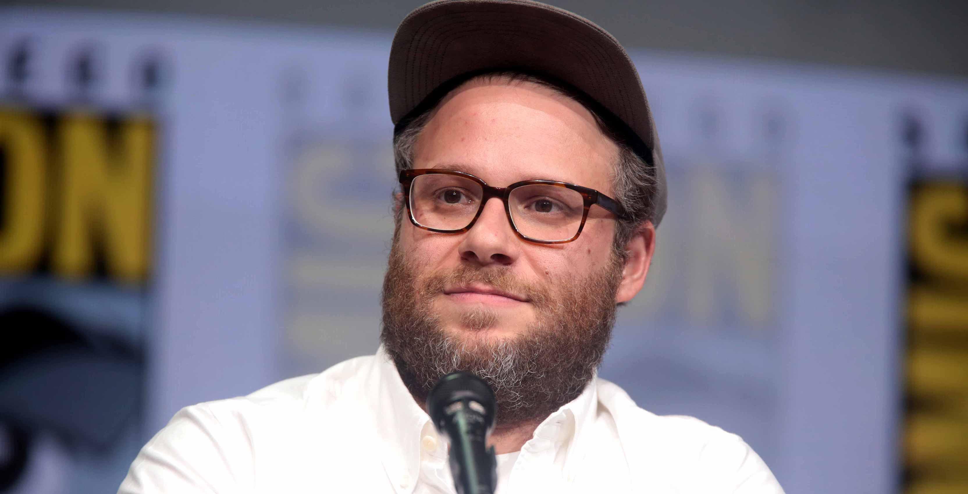 Seth Rogen at San Diego Comic-Con