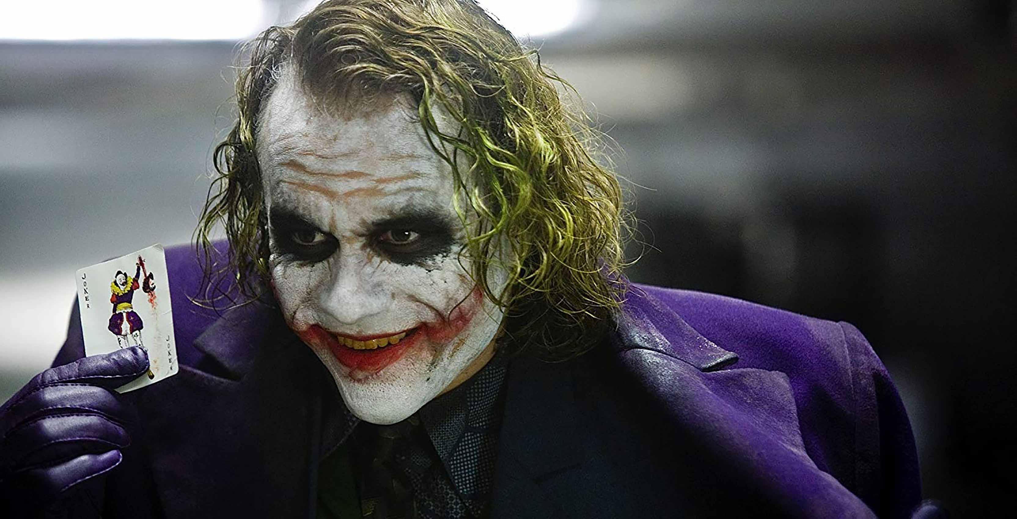 The Dark Knight Heath Ledger as The Joker