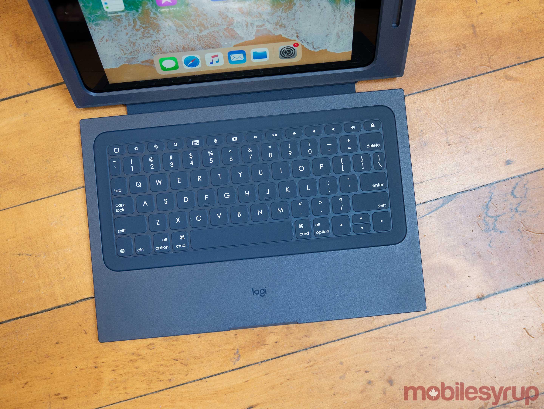 Logitech Rugged Combo 2- Pad-case keyboard