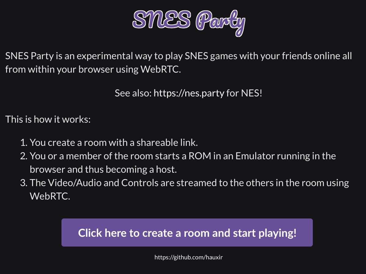 SNES Party